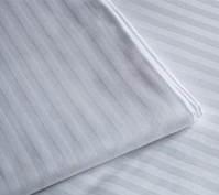 250TC Cotton/Poly Linens – 1cm Stripe
