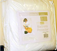 Water Proof/Allergy Shield Quilted Fitted Mattress Protector Pad