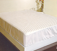 T130 Quilted Fitted Mattress Pad